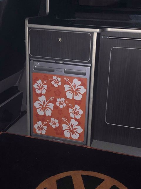 Waeco Cr50 Vinyl Fridge Wraps Custom Image Print On